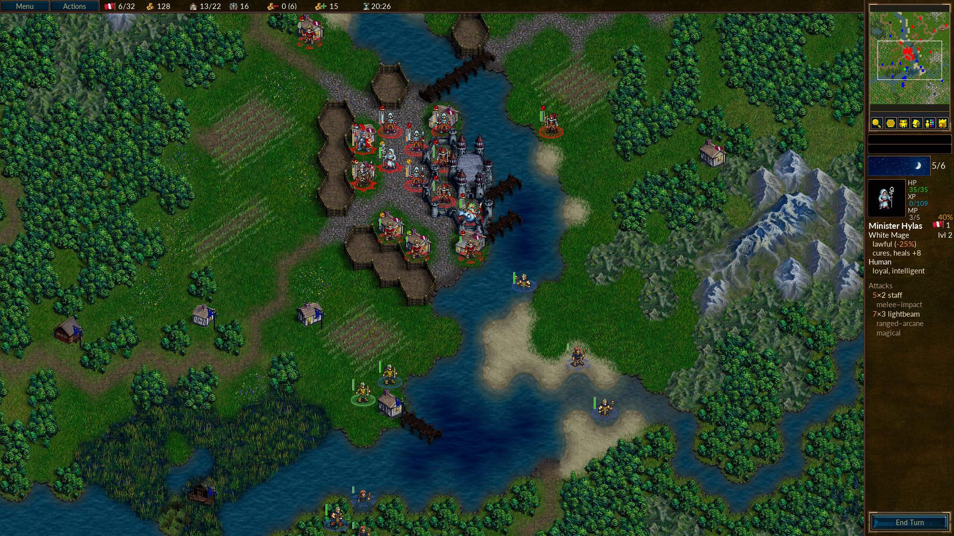 Battle for Westnoth screenshot.