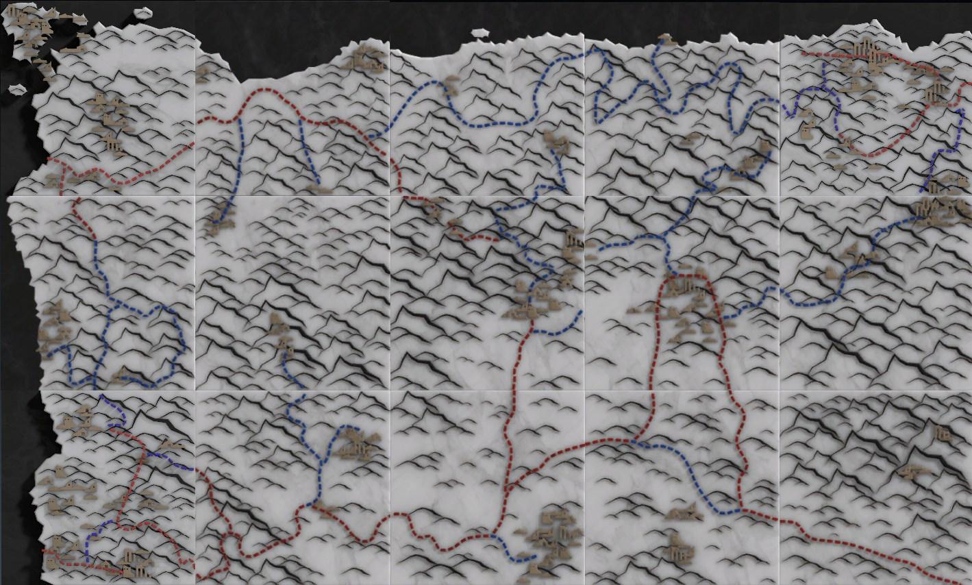 Capture map