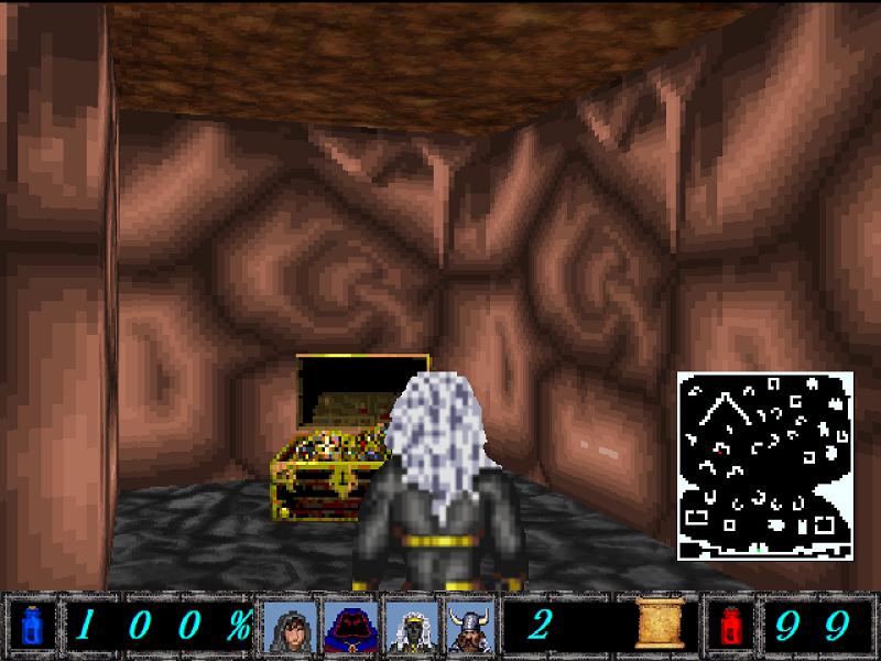 Treasure Chest Found in Cavern.