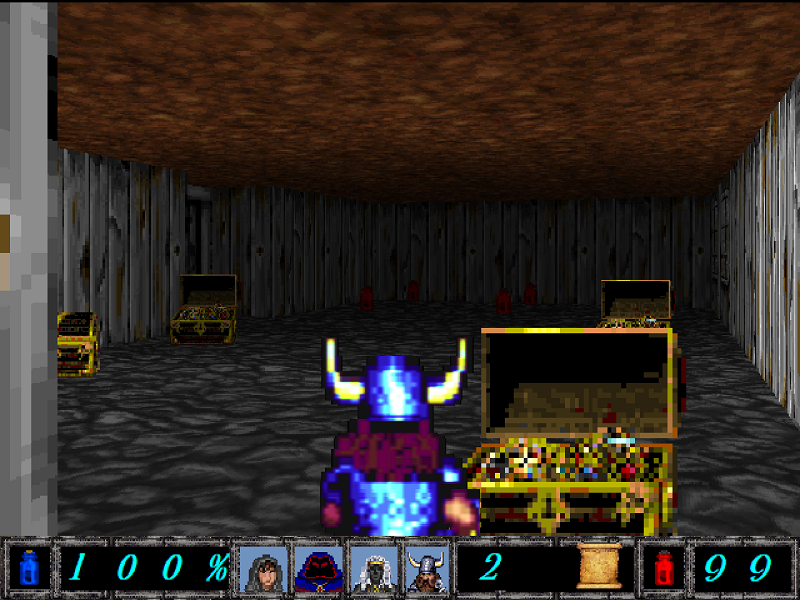 Found A Treasure Room in the Caverns.