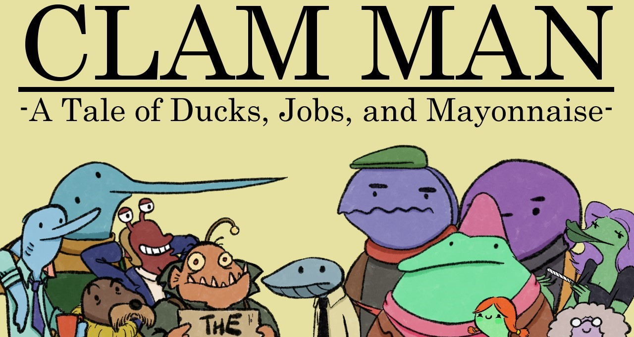 Clam Man Main 2