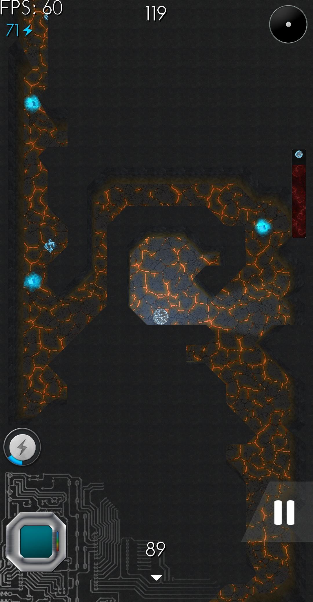 Screenshot Lava Running Labyrinth Version 1.3.5