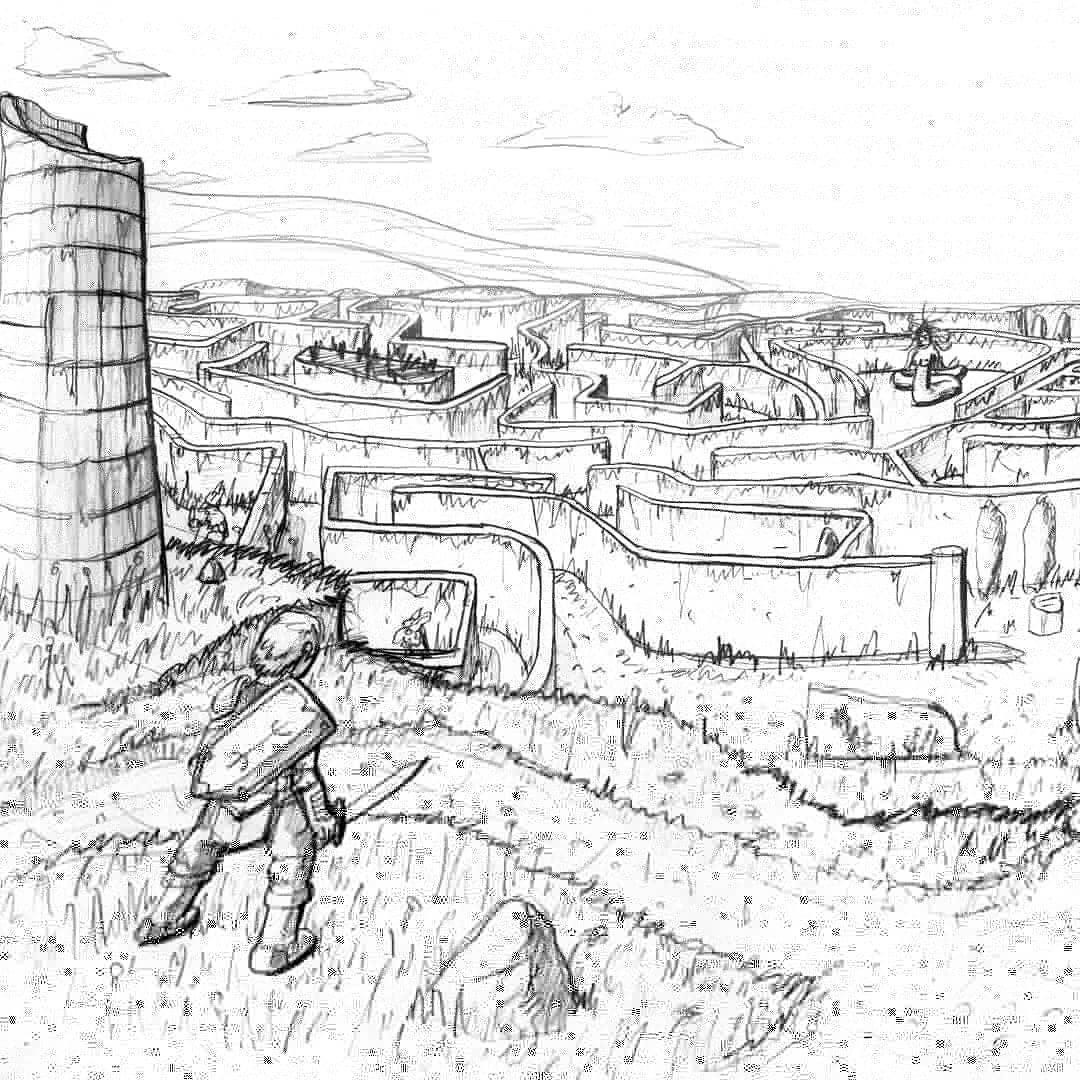 Megamath's Labyrinth
