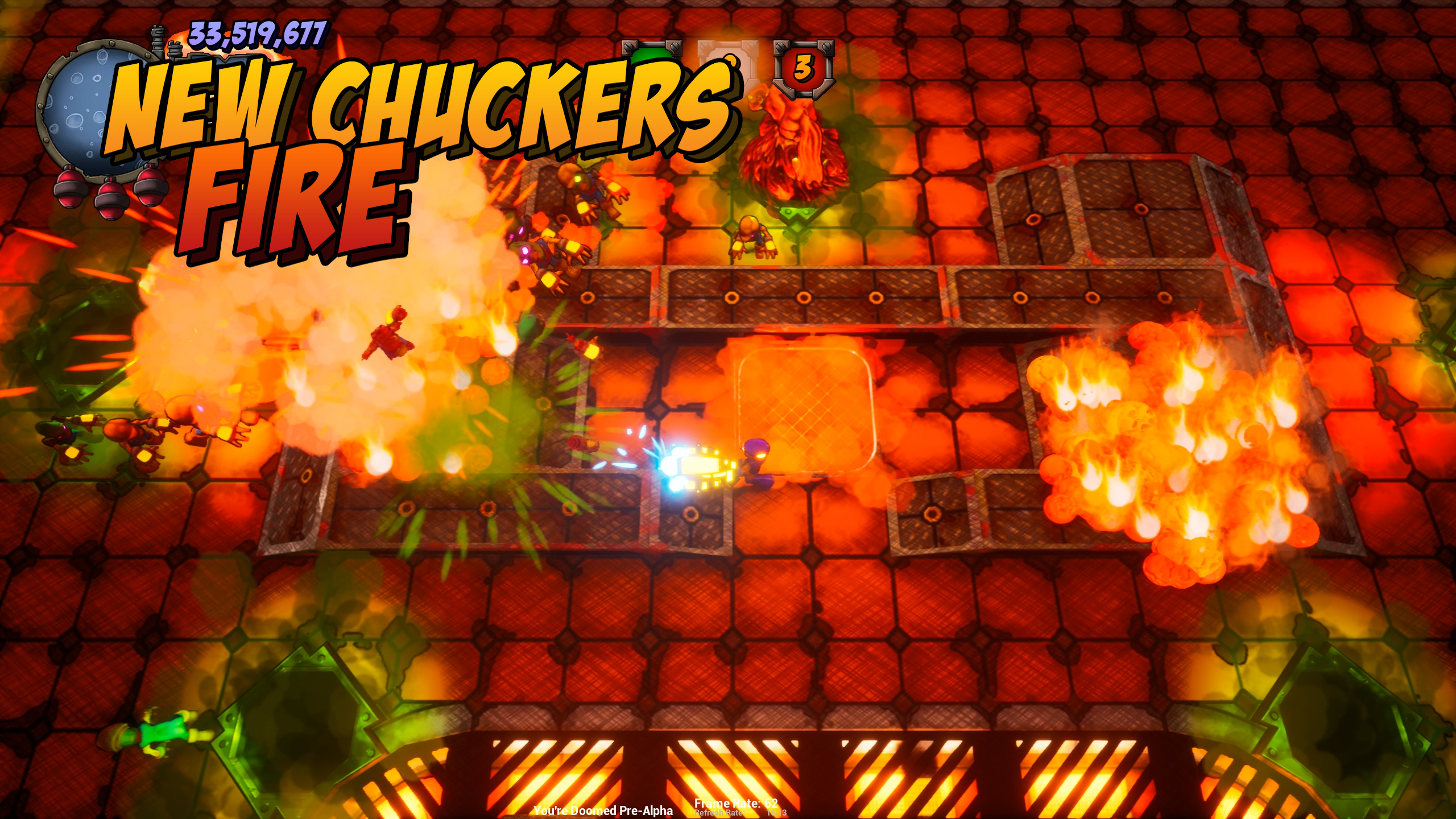 New Enemies - Fire Chucker