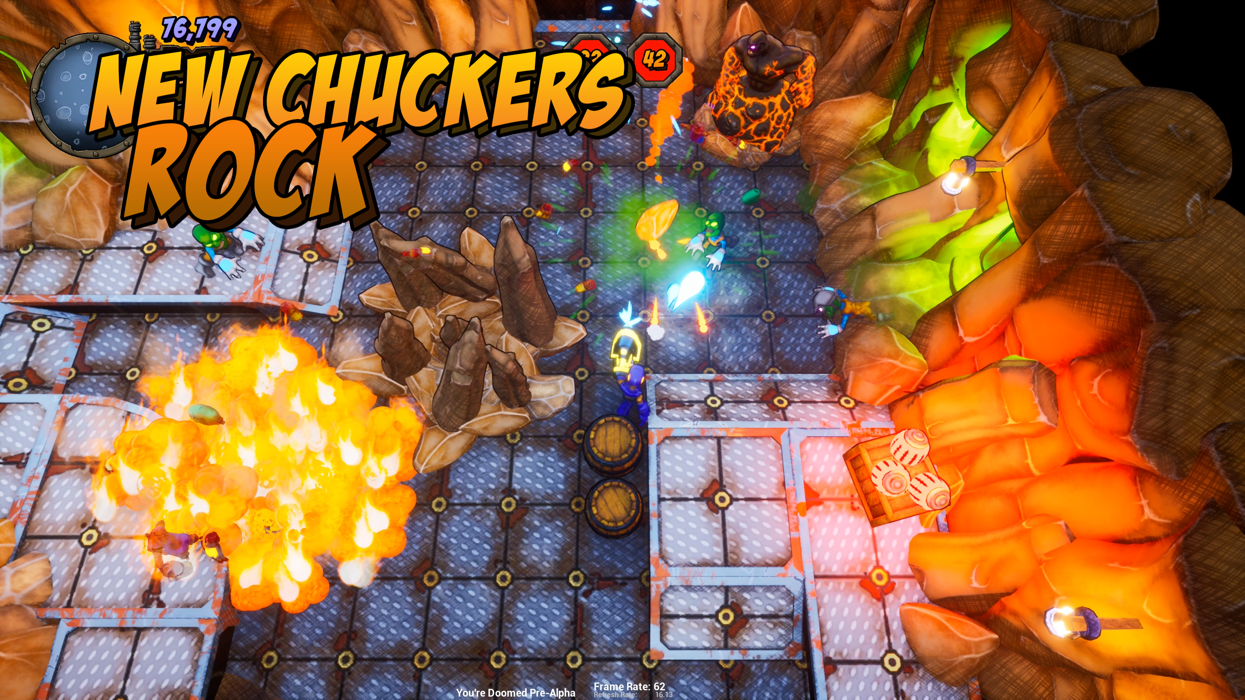 New Enemies - Rock Chucker
