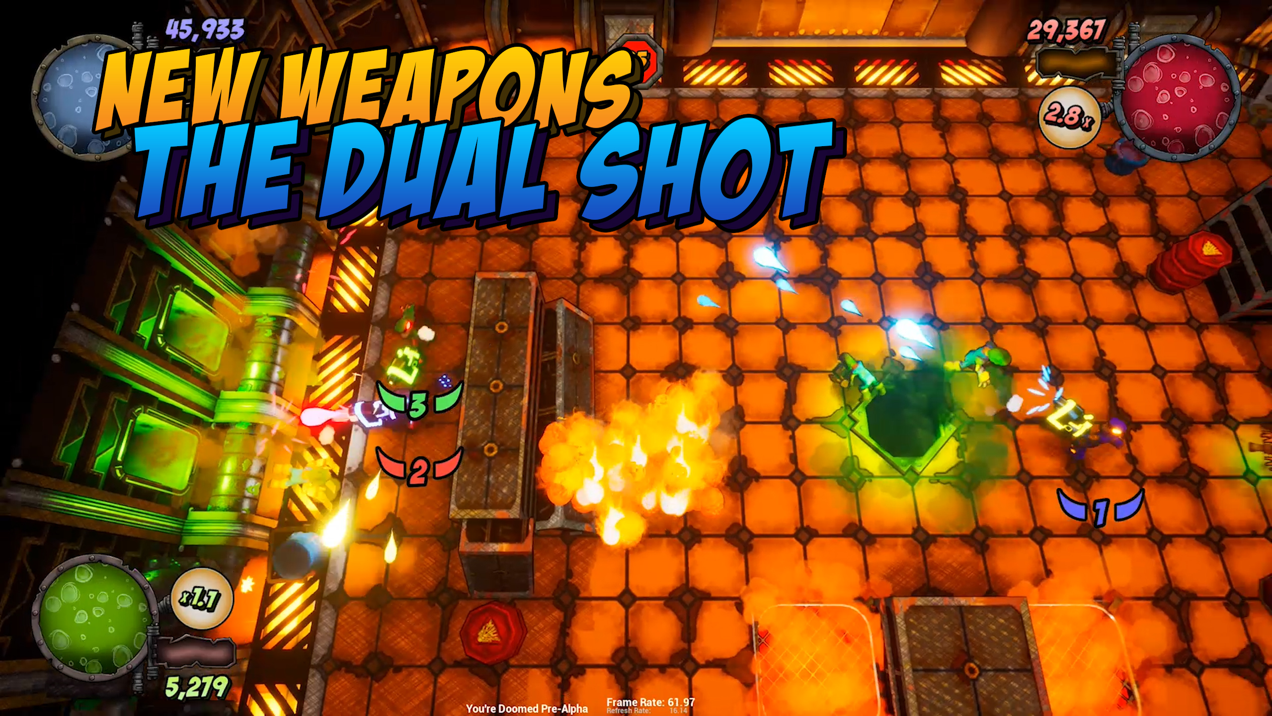 New Weapons - Dual Shot