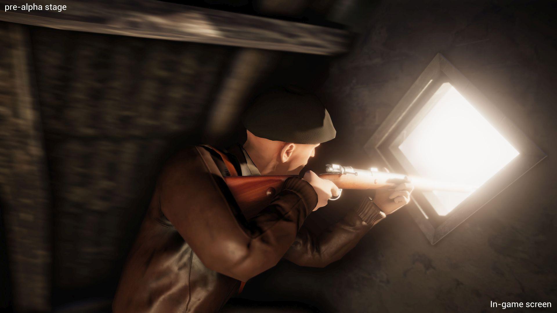 Shooter attic