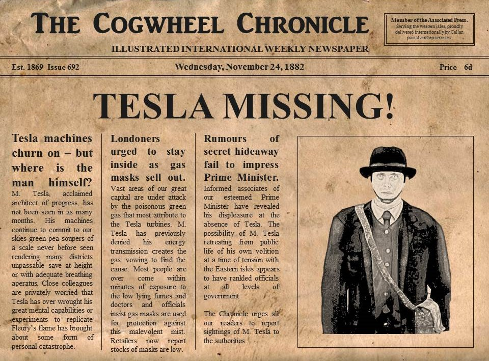 cogwheel chronicle - issue 692
