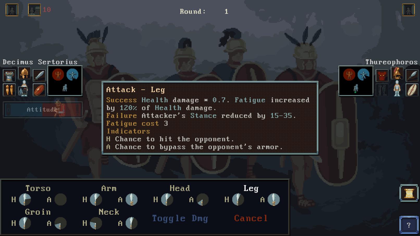 combat tooltip