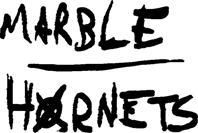 Marble Hornets logo.