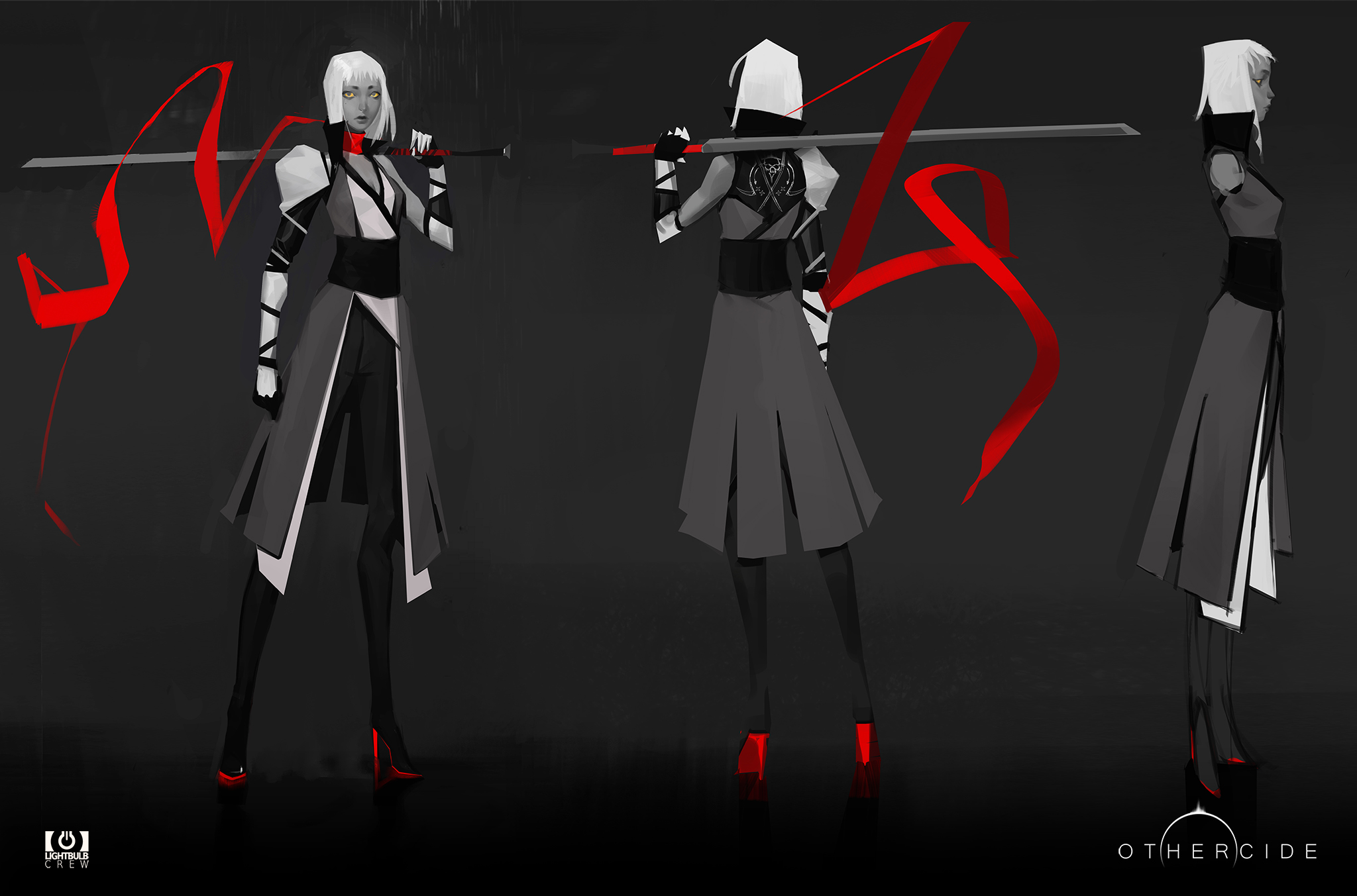 blademaster concept art othercide