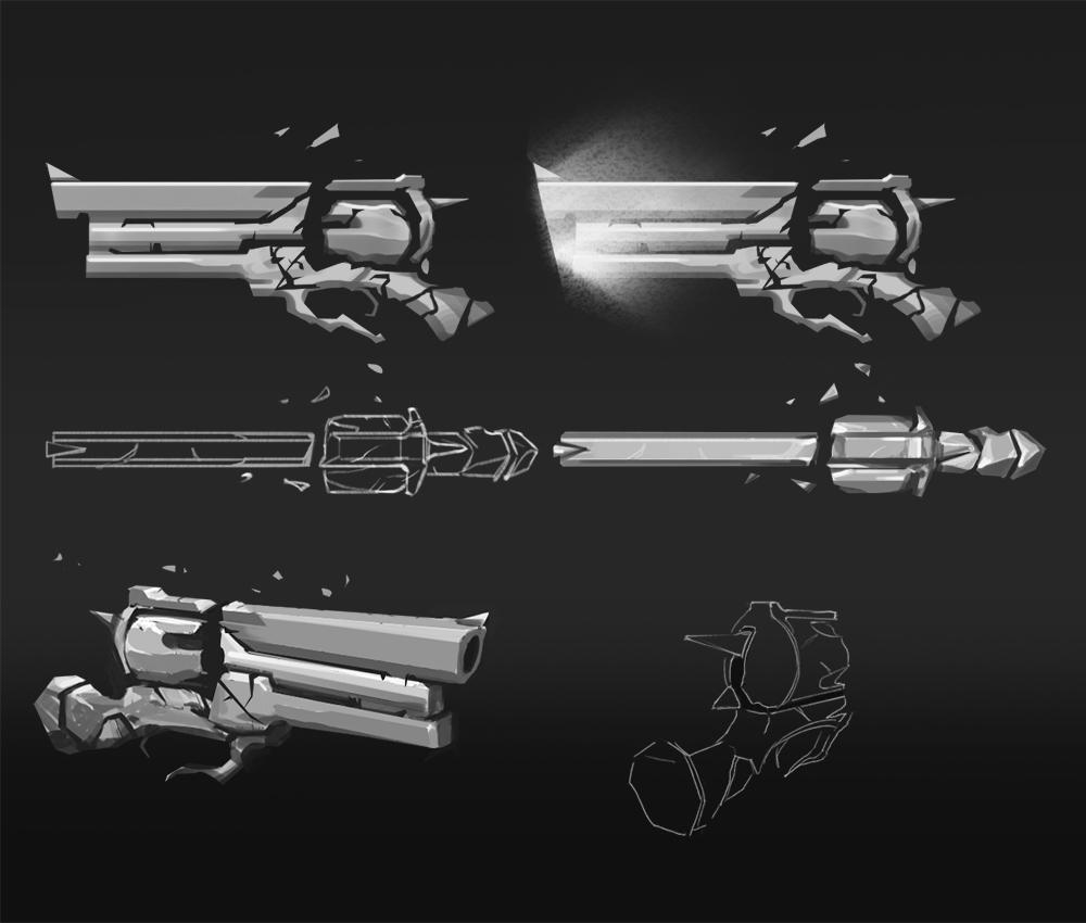 weapon design soulslinger othercide