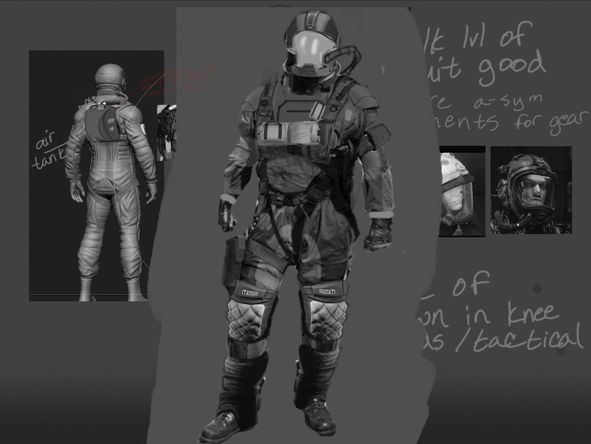 Character Suit Concept