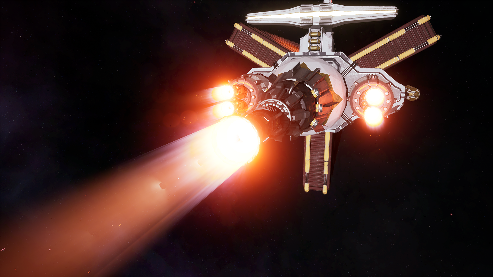 Freighter Thrusters