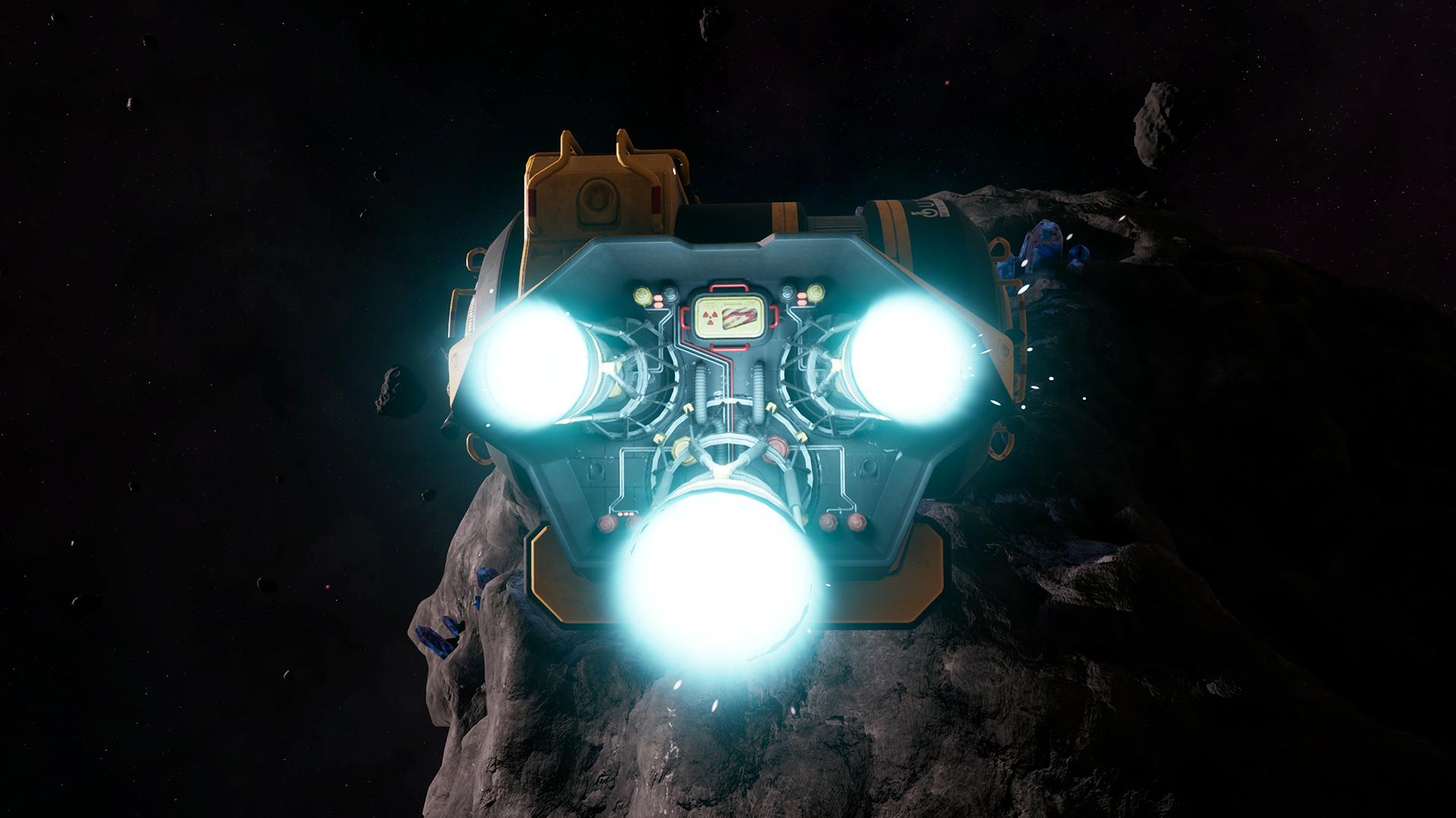Mining Frigate Thrusters