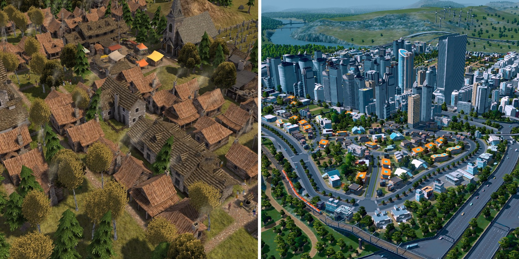 In city building games, you can see if a town is successful by seeing how large it is - but how do you know if the inhabitants are happy?