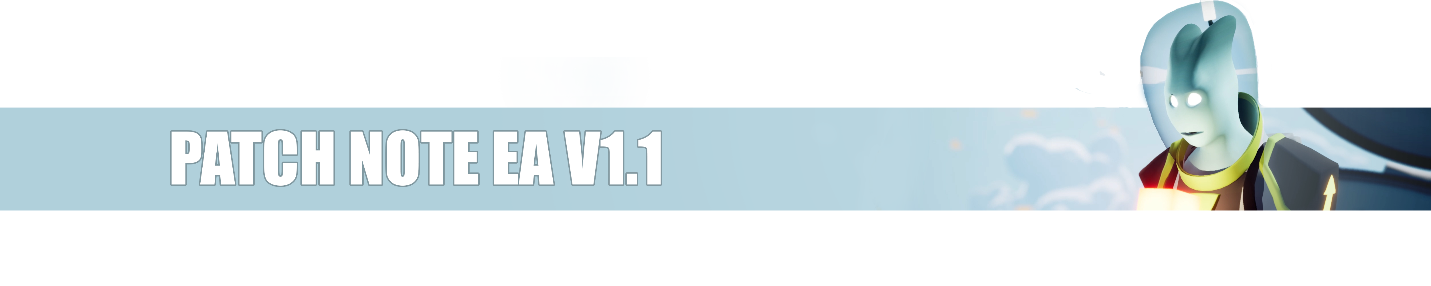 Patch note header EA