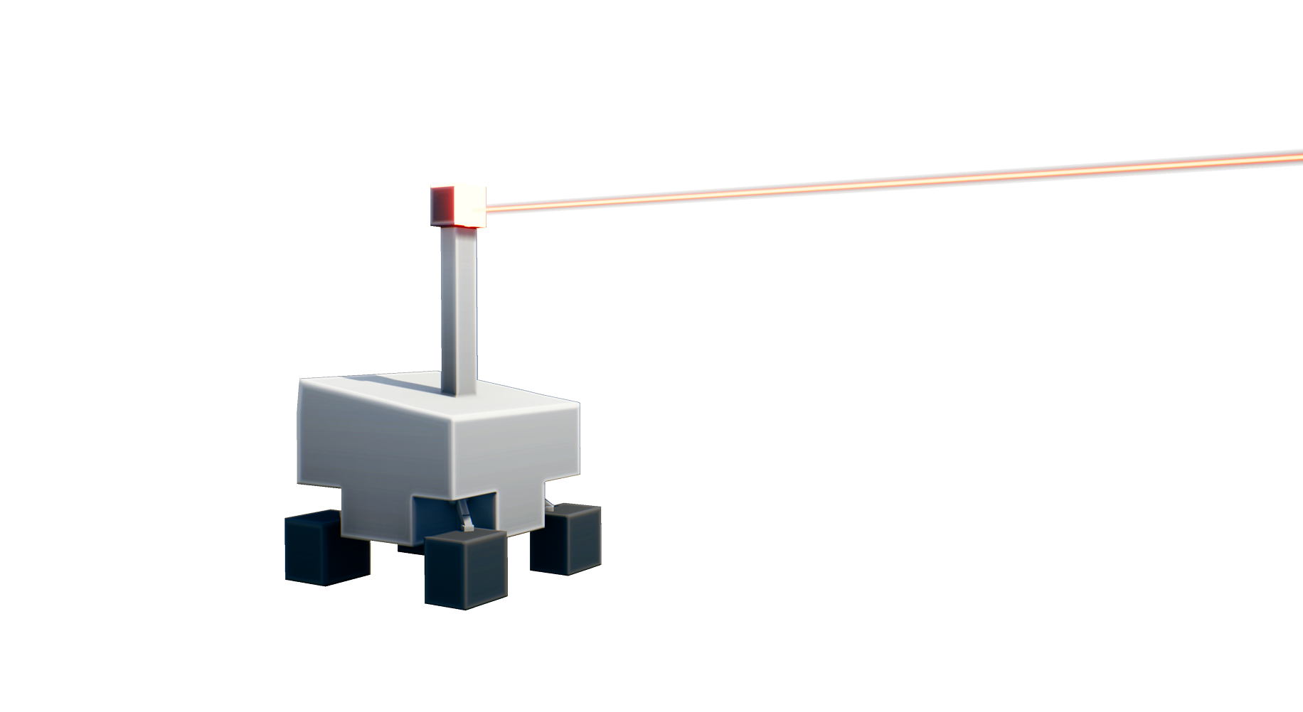 Robot Moon Laser