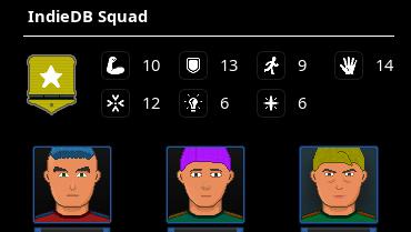 Ruinevers squads