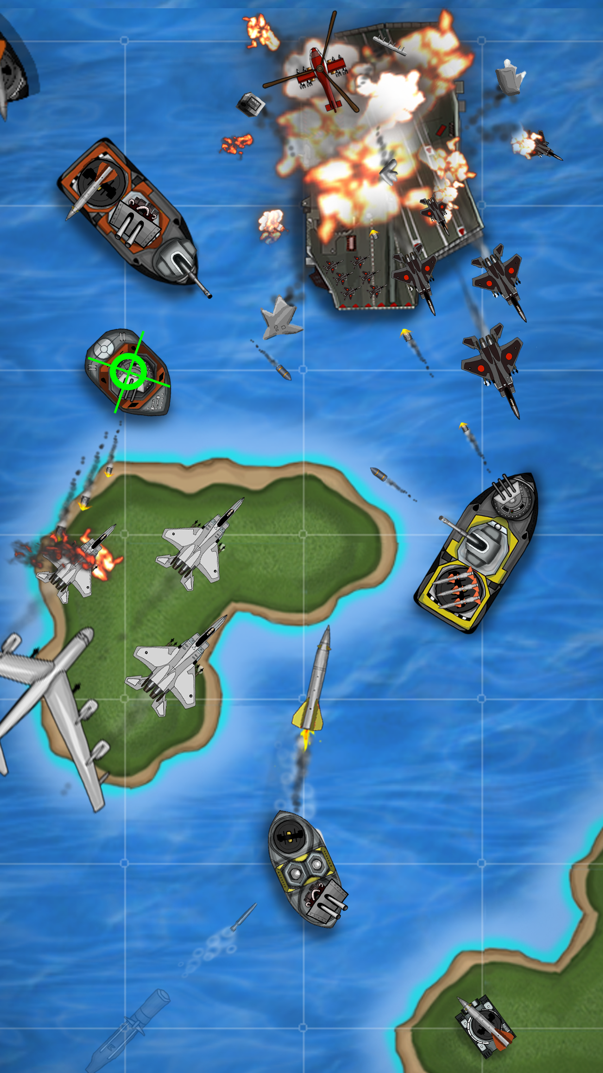 Carrier Commander Battle