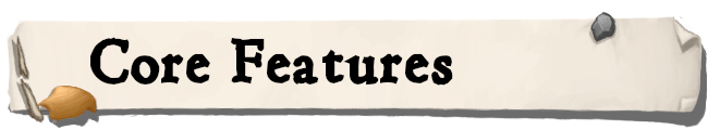 sectionHeader features