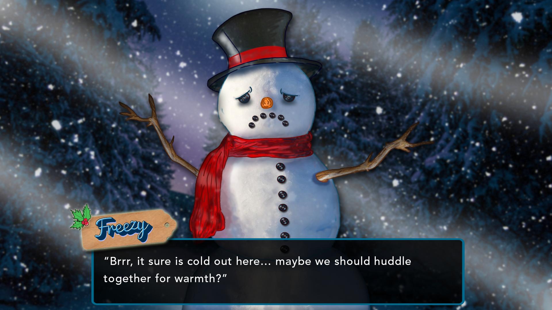 Santa's Big Sack Freezy the Snowperson Screenshot