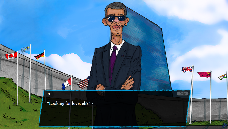 International Affairs Obama Screenshot