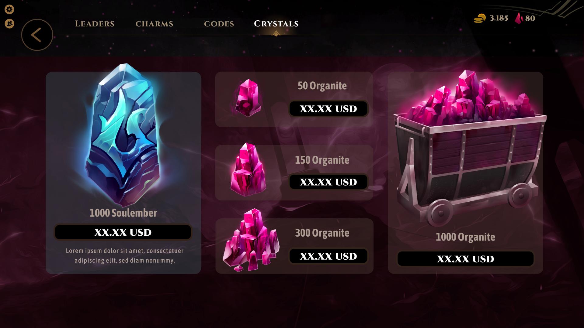Montaje mercado gemas nuevas 1 e