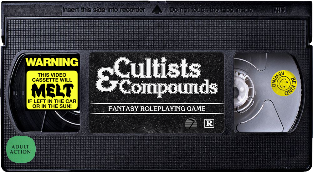 VHS Tape Cultists and Compounds