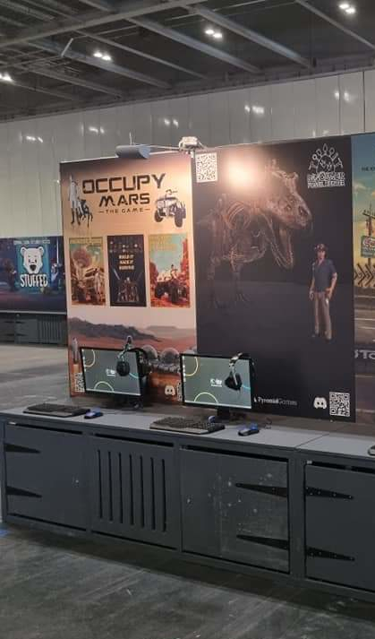 Pyramid Games at EGX