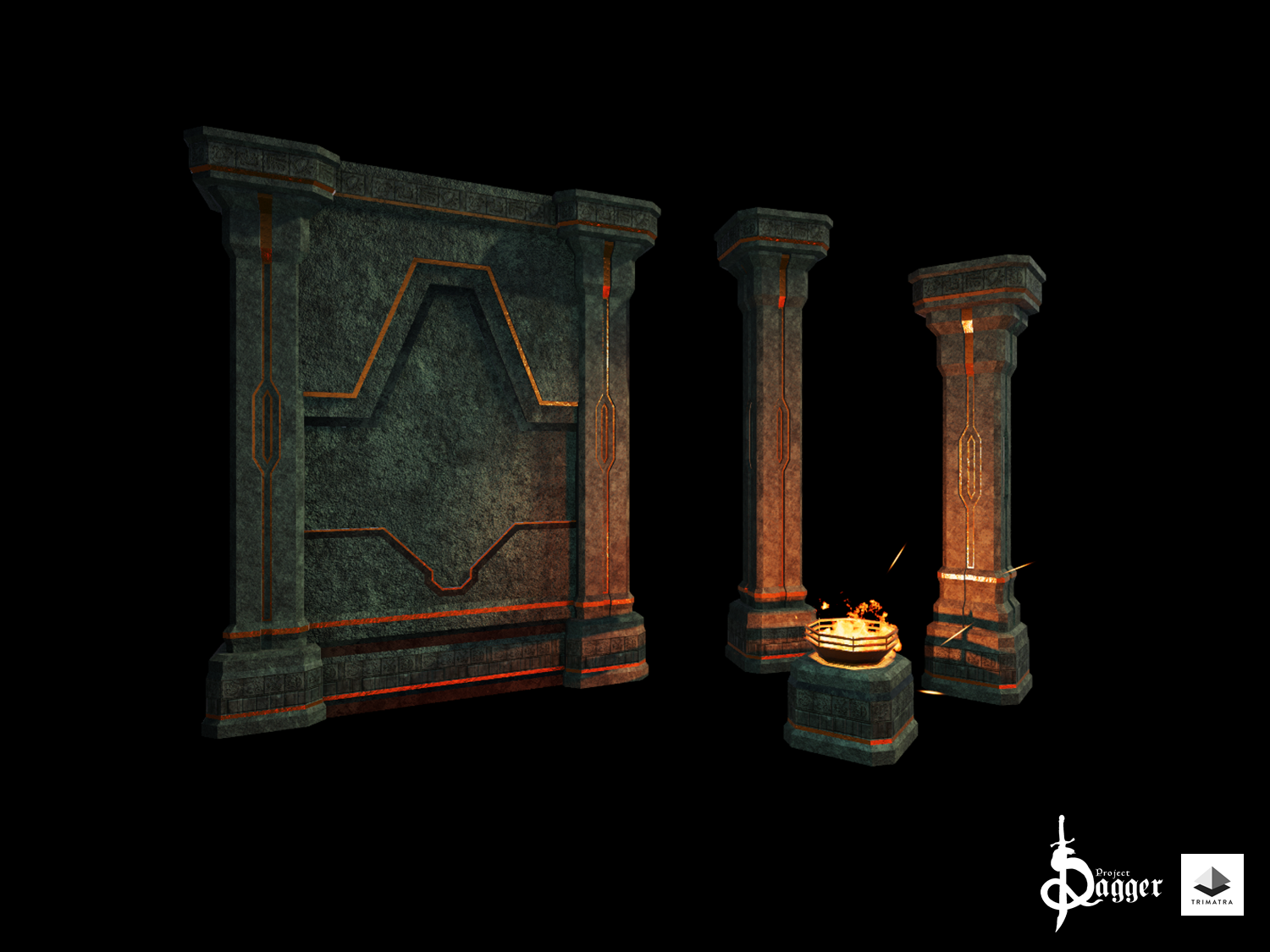 Work in Progress of the Dwarven Tilesets