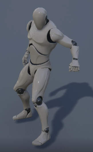 UE4 Manequin is right now only character in game