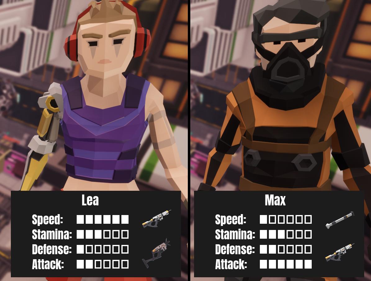 Lea VS Max