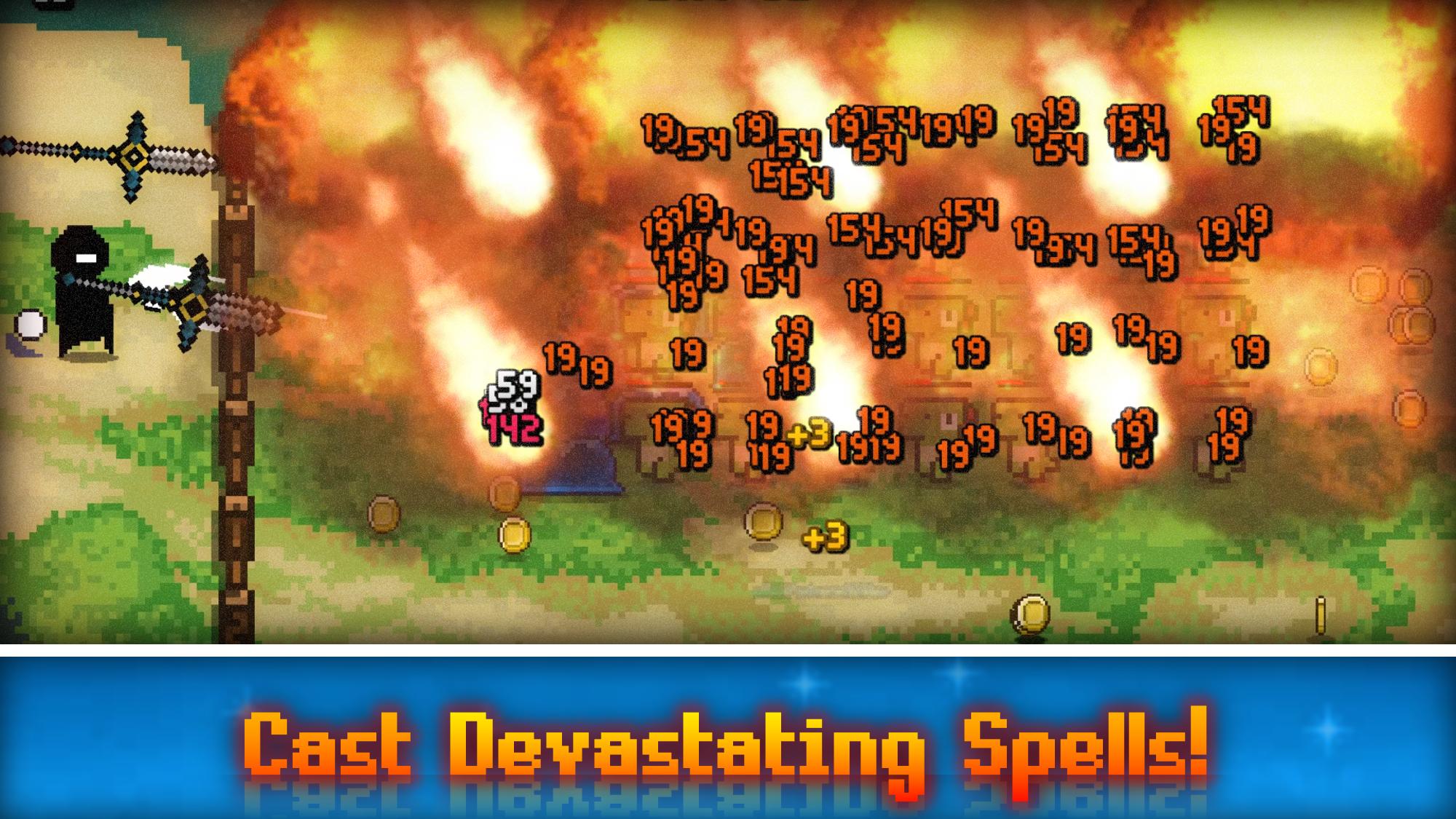 A devastating spell in the game: Armageddon.