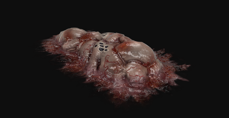 Virus Sample Textured