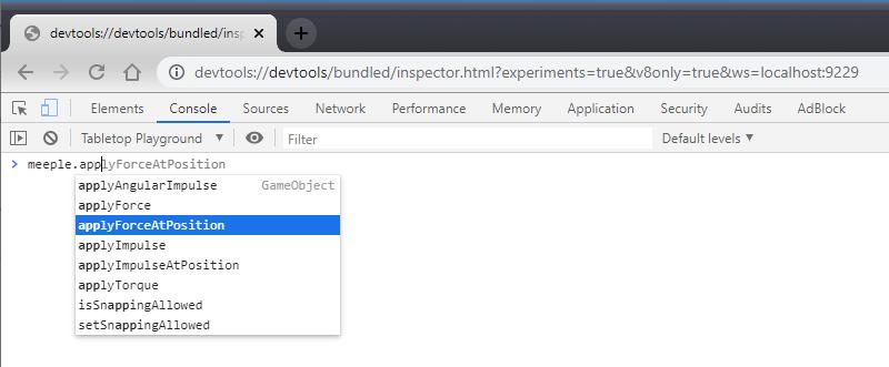 Scripting Chrome