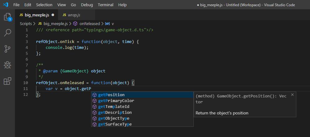 Scripting VSCode