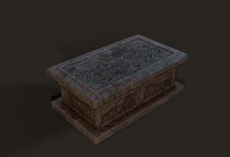 dagger casket