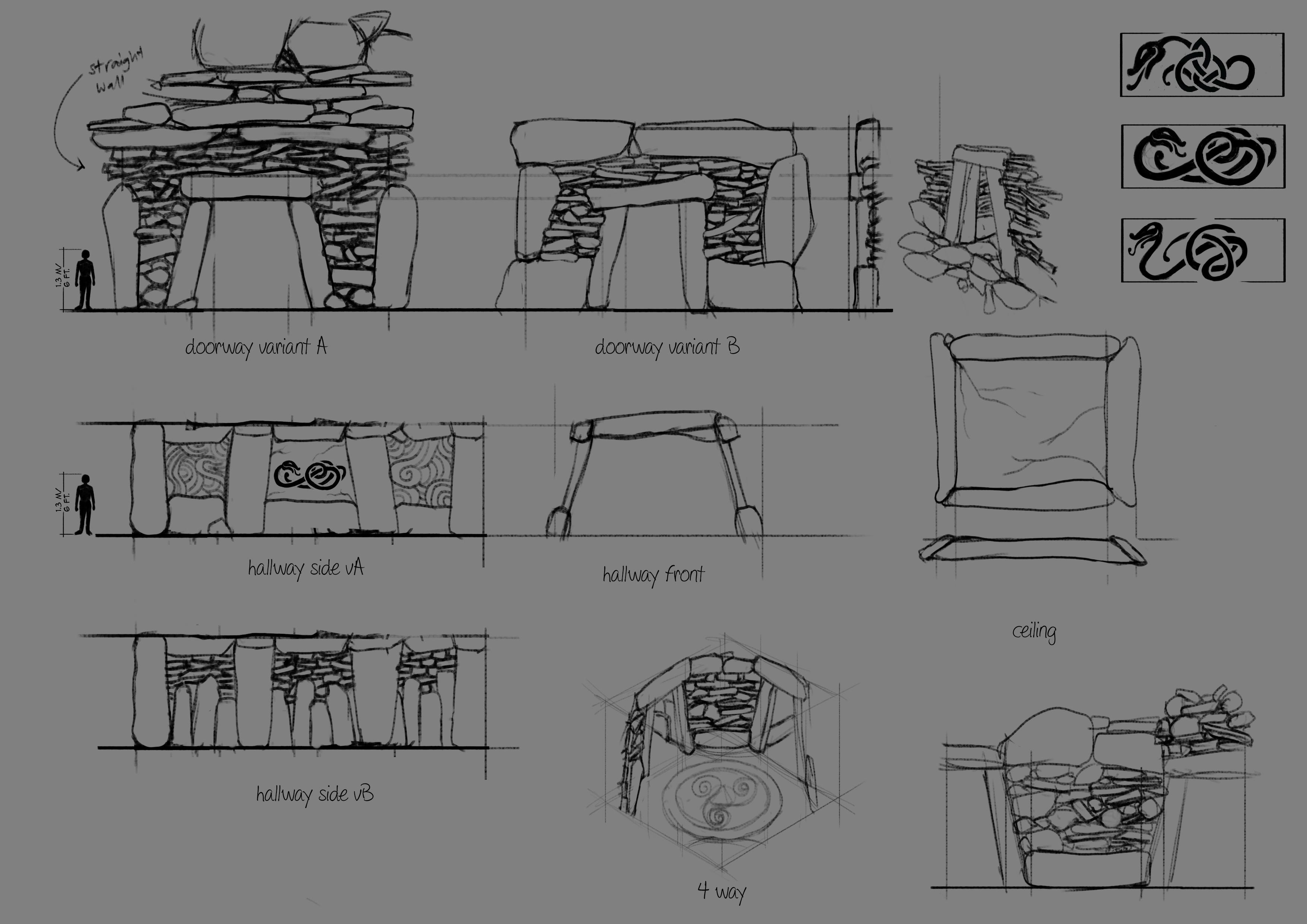 nordic tileset concept art 1