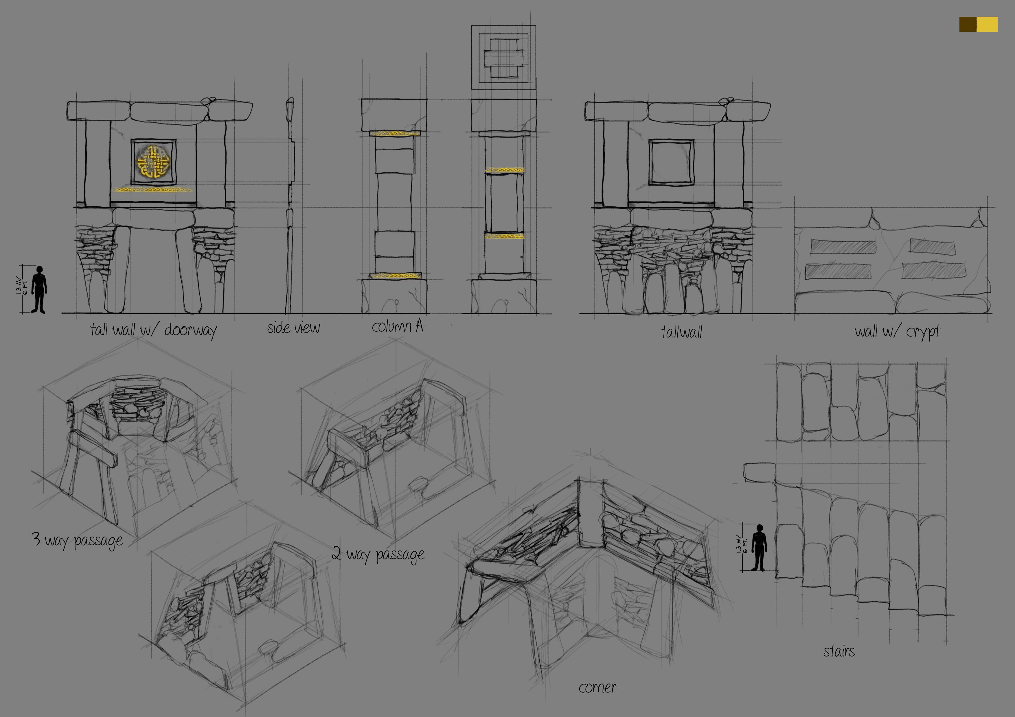 nordic tileset concept art 2