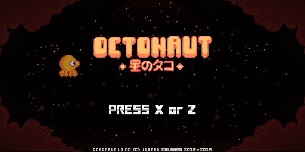 Octonaut Title Screen