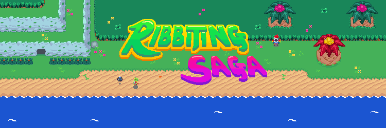 Ribbiting Saga Banner