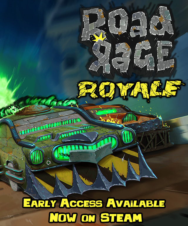RoadRageRoyale Early Access now on Steam