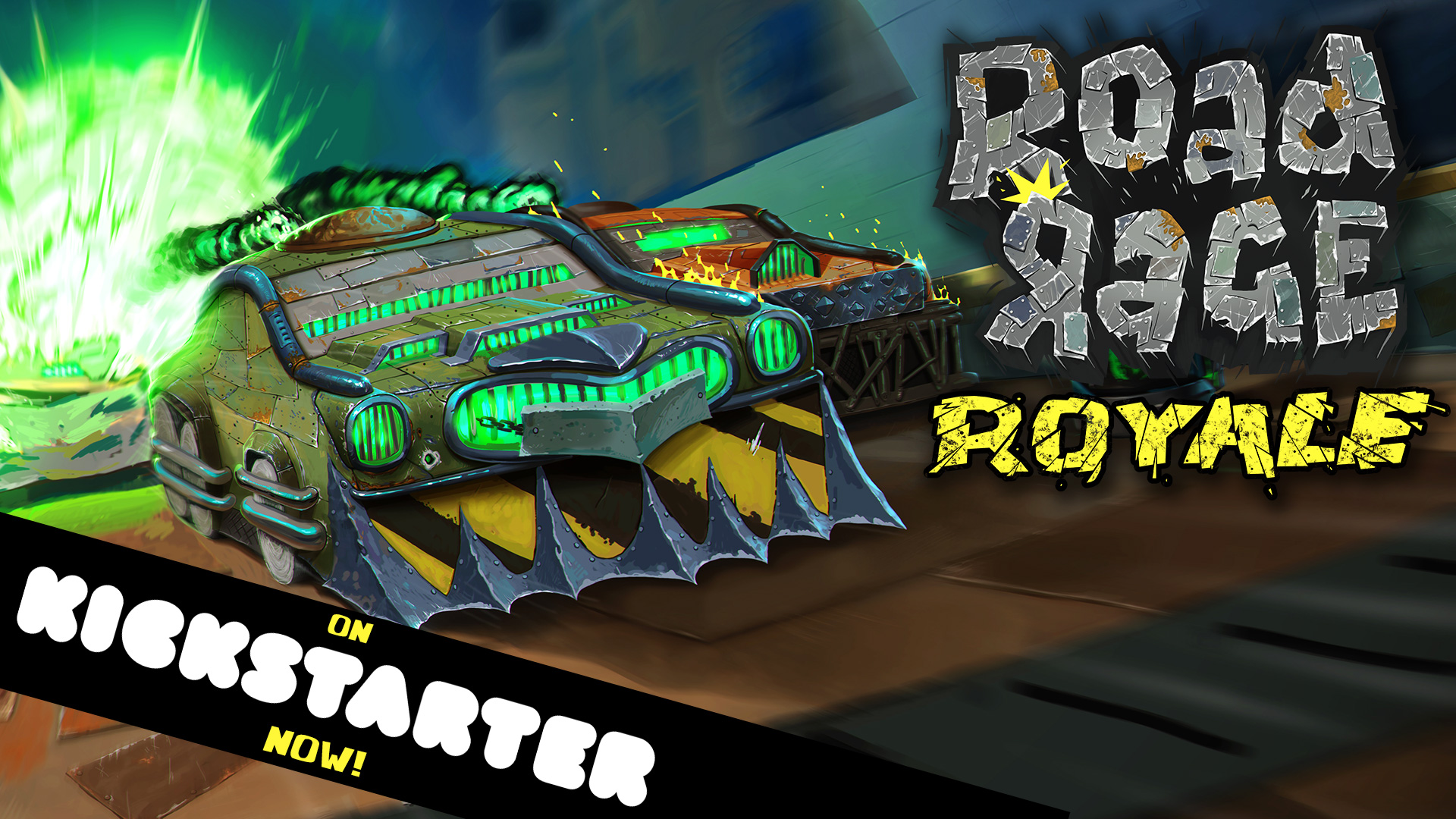 RoadRageRoyale on Kickstarter now
