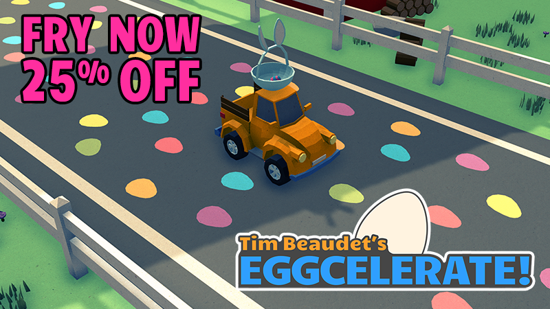 Eggcelerate! was just released