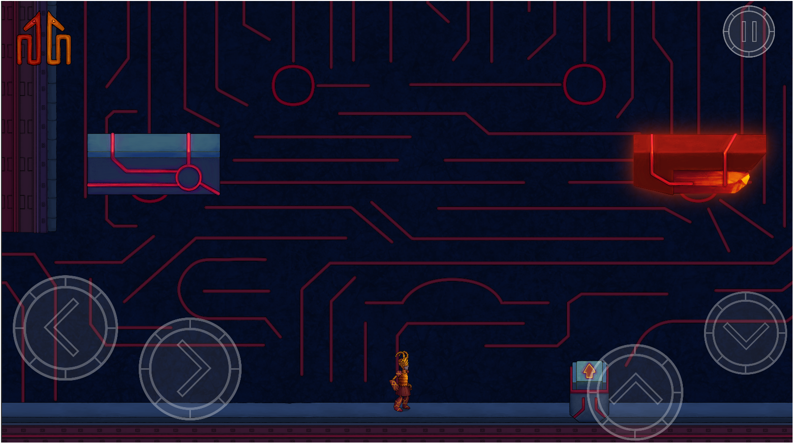 gameplay screenshot - buttons