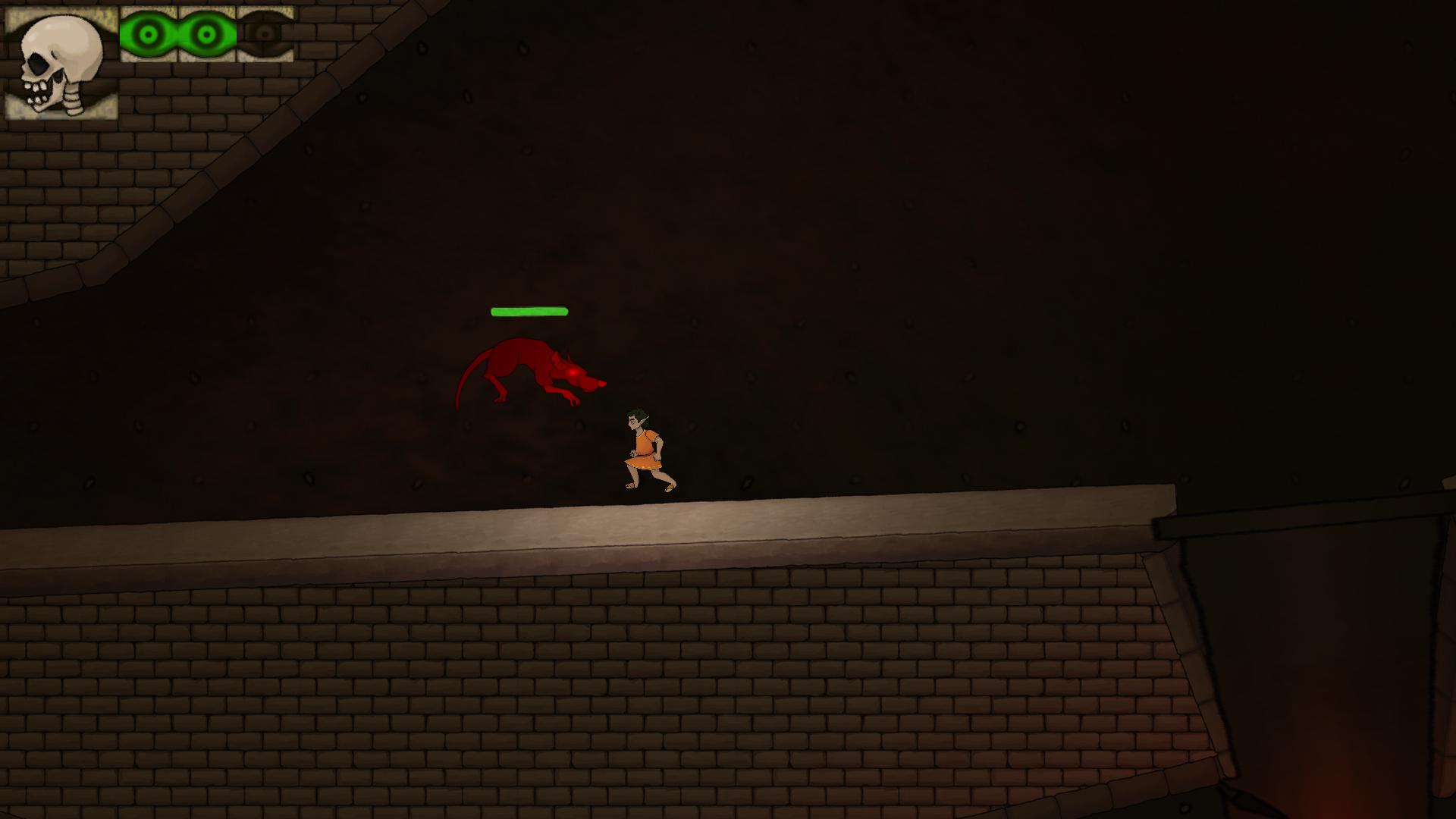 Rat attack, AI example