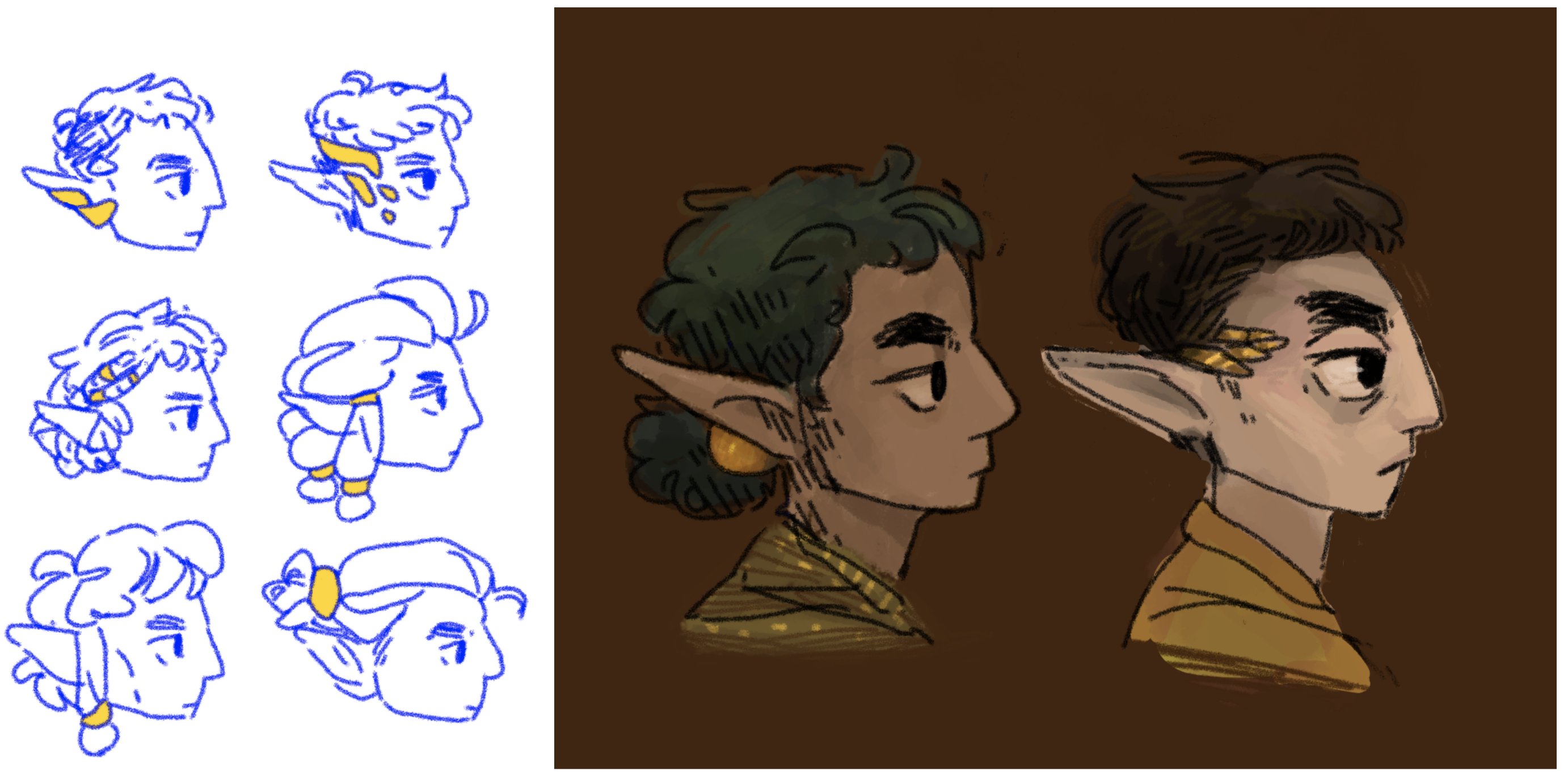 Elf - character makeover options
