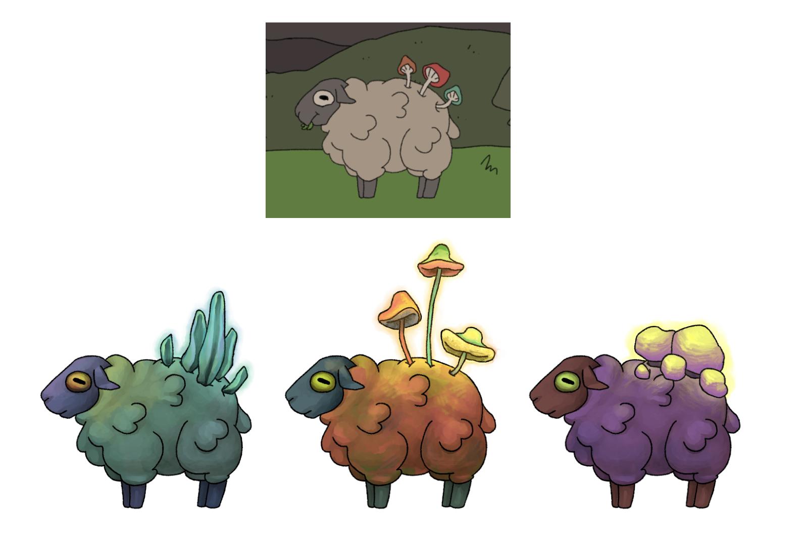 Sheep perk change