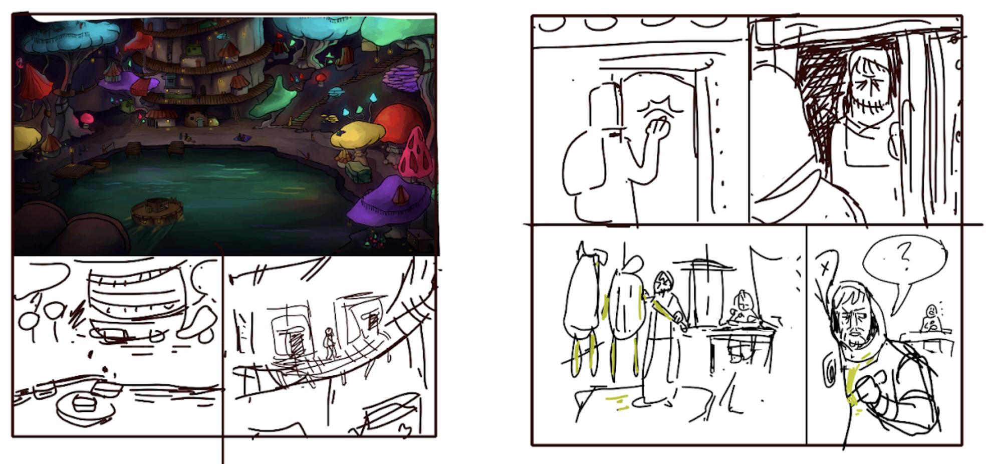 Panel sketch